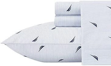 Nautica 883893509719 Boat Stripe Sheet Set, Twin X-Large, Blue