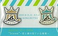 """嵐 ARASHI 10-11 TOUR """"Scene"""" 0君と僕の見ている風景 0 ピンバッチ・ 金 国立"""
