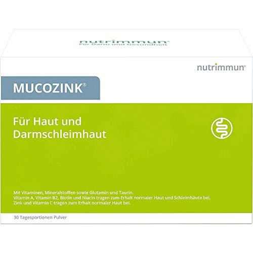 MUCOZINK Tagesportionen Pulver für Haut und Darmschleimhaut, 30 St. Beutel