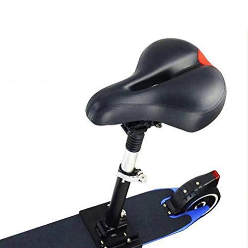 Lifesongs E Scooter Sitz Klappsitz,Sitzsattel Set Elektroroller Sitz Für Xiaomi Mijia M365 Roller, Faltbare Höhenverstellbare Stoßdämpfende Klappsitz Stuhl Roller Ersatzzubehör