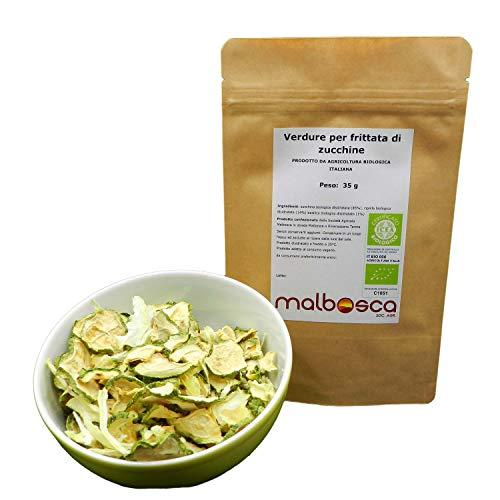 Verdure per frittata a base di vegetali zucchine SENZA...
