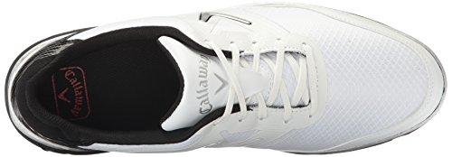 CallawayBalboa Vent-M - Balboa Vent Homme, Blanc (Blanc/Noir), 44 EU