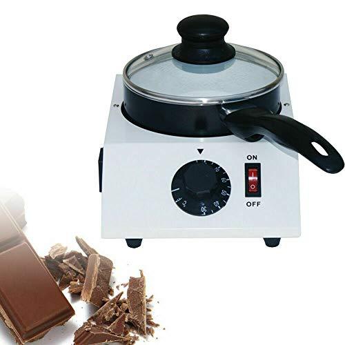 OUKANING Fonduta di Cioccolato Fonduta di Cioccolato elettrica Cioccolato Fondente Antiaderente