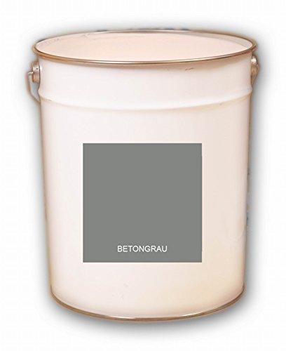 Pintura para suelos de hormigón (10 L, base acrílica), color gris