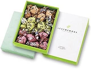 【モンロワール】 リーフメモリーギフトボックス(橙・桃・緑 約均等(計27個))