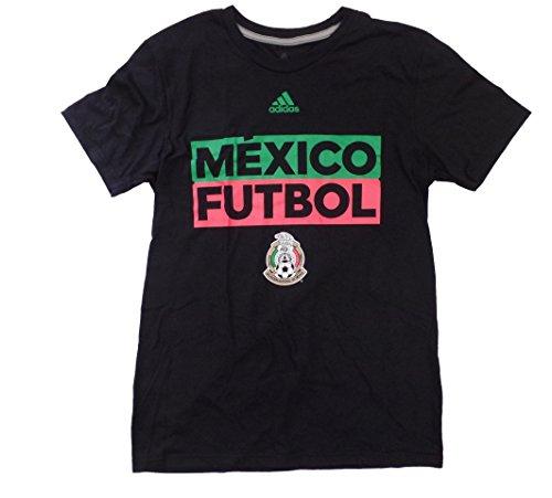 Mexico Men's Black Adi Box Performance T-shirt XX-Large