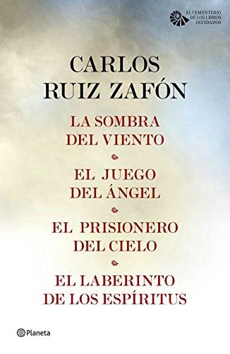Tetralogía El Cementerio de los Libros Olvidados (pack) (Carlos Ruiz Zafón)