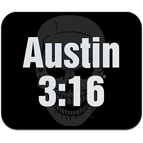 WWE Stone Cold Austin 15:16 Uhr Low Profile Thin Mouse Pad Mousepad