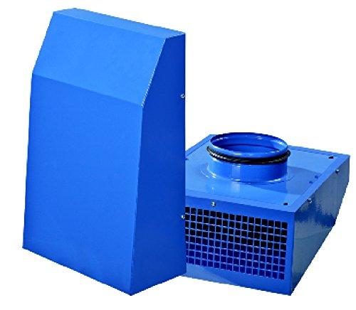 VENTS VCN 100 Industrieller Außenwand Radiallüfter/Außenwandventilator/Wand/Ventilator/Lüfter/hochwertige Leistung / 280 m³/h / 100 mm / 100% Original EU-Markenqualität
