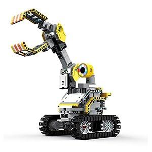 UBTECH JIMU Robot Builderbots Kit – App Enabled Stem Learning Robotic Building Block Kit (2017)