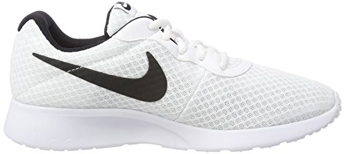 Nike Tanjun', Baskets Homme, Blanc (White/Black), 44 EU