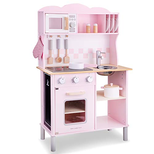 New Classic Toys 11065 kitchenette modern met kookplaat, roze