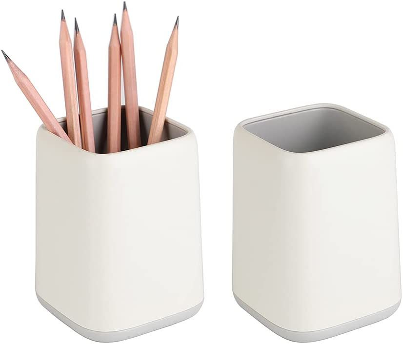 YOSCO Desk Pen Holder Stand Two-tone Pencil Ranking TOP20 Raleigh Mall Cup Pot Organiz