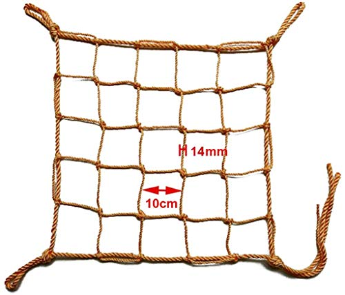 Stevige Netto Klimmen Cargo Frame Net Polyester schommel Accessoires Indoor Protection Net Outdoor Playground Swing, bagagenet Speeltuin Toy for kinderen van 3 jaar en ouder,