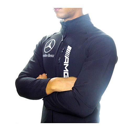 Mercedes-Benz Softshell-Jacke ///AMG, Qualität und europäische Größen, Schwarz XXL