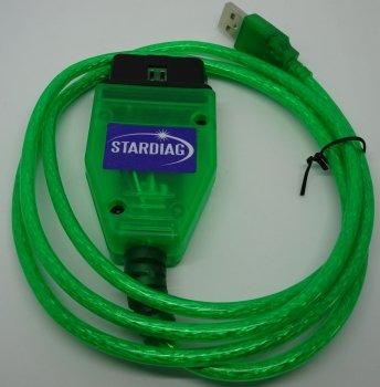 Stardiag K609 KKL Interface Diagnose Profi Fehler Auslesegerät Software USB Scanner OBD OBD2 PKW Alle Marken Universal
