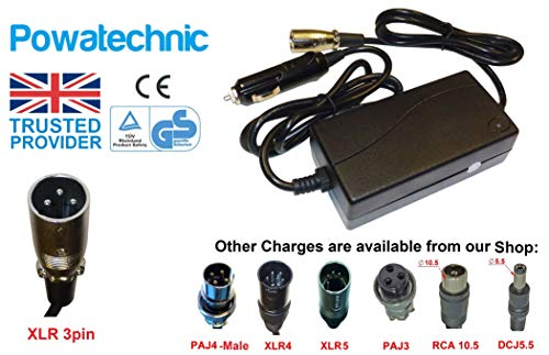 Cargador de batería para coche de 12 V a 36 V/42 V...