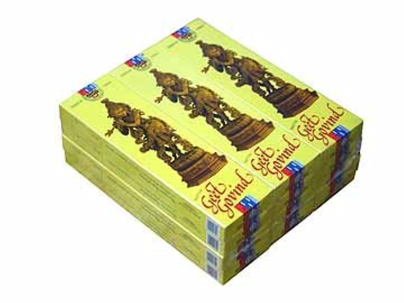 つまずく幻滅狂気SATYA(サチャ) ギート ゴビンドゥ香スティック マサラタイプGEET GOVIND 12箱セット