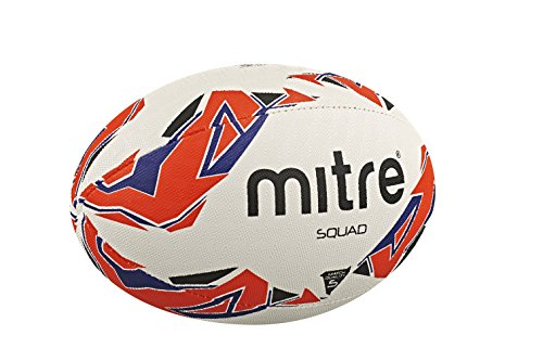 Mitre Men's Squad Match Rugby Ball
