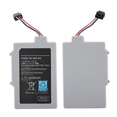 VBESTLIFE 3,7 V 3600 MAh Ersatzbatterie für WIIU