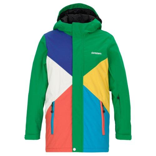 Zimtstern Kinder Snowboard Jacke Clyde Jacket Youth Green XXL