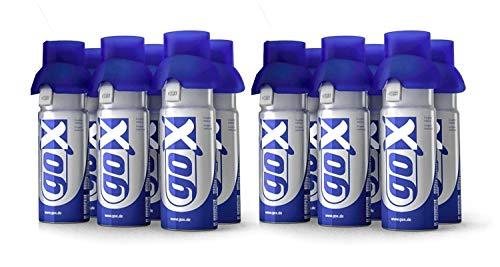 Paquete de 12 latas de oxígeno puro de 6 litros - Lucha...