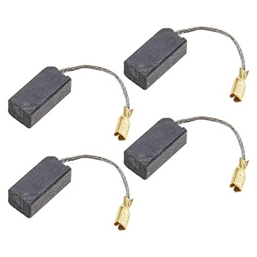 2 pares de cepillos de carbono 16 x 8 x 6,3 mm con corte automático compatible con Flex GE5 GE5R GSE5R piezas de repuesto