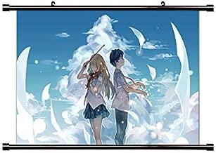 Your Lie in April (Shigatsu wa Kimi no Uso) Anime Wall Scroll Poster (16x24) Inches