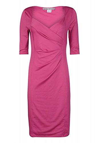 ashley brooke by heine Kleid Wickelkleid Jerseykleid Abendkleid Violett, Größenauswahl:40