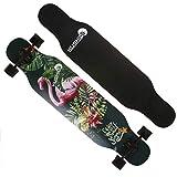 Skateboard 42'Pro Dancing Longboard Kreuzer Double Kick Deck...
