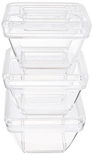 Creative Bath BWLS-6 Condiment Bowl (Set of 3), 22 oz, Clear
