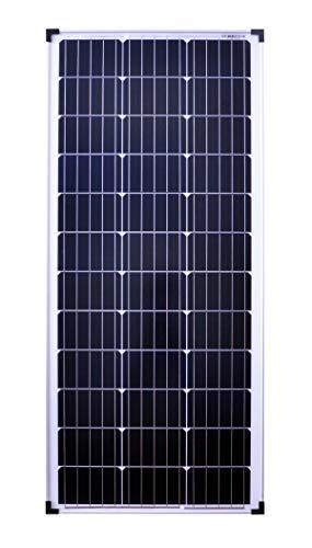 solartronics Solarmodul 100 Watt 1200x540x30 Monokristallin Solarpanel Solarzelle 5 Busbars 12V