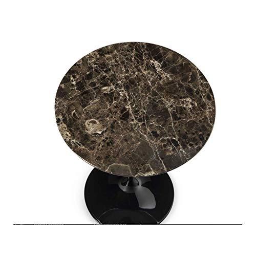Beistelltisch Eero Saarinen TULIP Rundtisch Ø 180 cm Emperador dark-brown Marmor - schwarz