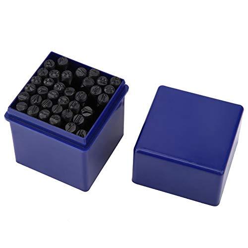 Schlagzahlen - Set, 36 teile 5mm Brief- und Nummernstempel-Set Alphabet A bis Z und Nummer 0 bis 9 Eisendichtung Schlagwerkzeuge Kit