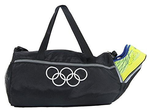 "POLESTAR ""Premium "" 26 Ltrs Black Duffel Gym Bag Backpack"