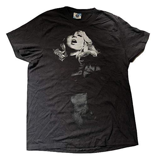 Madonna - Pegajoso & Sweet Tour (Europe) - Oficial Camiseta para Hombre - Negro, Mediana