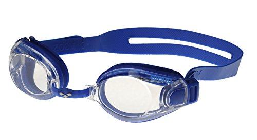 Arena ZooX-Fit, Occhialini Unisex Adulto, Blu (Blue/Clear/Blue), Taglia Unica