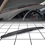 7BLACKSMITHS Upper Dashboard Front Dash Defrost Vent Trim Panel Compatible with 07-13 Chevy Silverado Tahoe Yukon Sierra Escalade Replace for 23224733