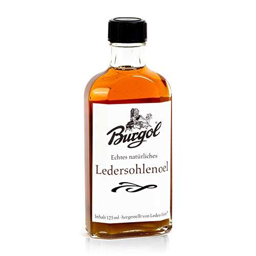 Burgol Ledersohlenöl 125ml ohne Pinsel Ledersohlenpflege Sohlenimprägnierung