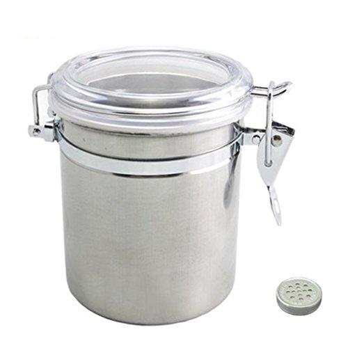 Liuyu · Maison de Vie Tabac Pipe Boîtes à Tabac Hydratant Boîtes Scellé Pot Grand Acier Inoxydable
