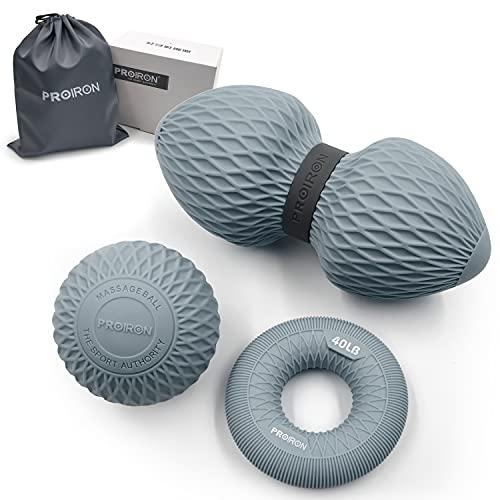 PROIRON Massage Ball 3er Set Silikon Selbstmassage