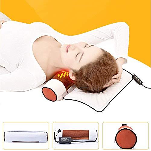 XCJ Massagegerät Zervikale Kissen Meersalz Grobes Salz Hot Packs Elektroheizung Physiotherapie Salz Taschen Hals und Schultern Wermut