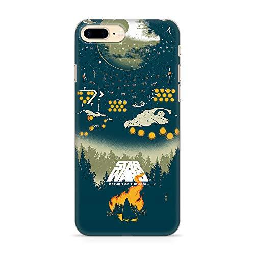 Ert Group SWPCSW12955 Cubierta del Teléfono Móvil Star Wars 032 iPhone 7 Plus/ 8 Plus