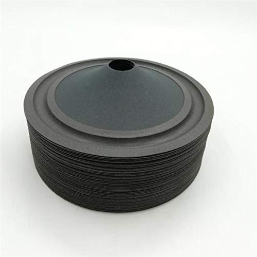 WNJ-TOOL, 3 Stück 123 mm 20 mm Kern 5 Zoll Lautsprecher Kegel Trommel Papier Schaumkante Reparatur DIY Zubehör