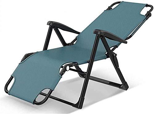 LLSS Sillón Plegable Zero Gravity Sillas de terraza Patio Ajustable Jardín reclinable Exterior Patio Tumbonas Oxford Cloth Sun Bed Soporte reclinable 440lbs