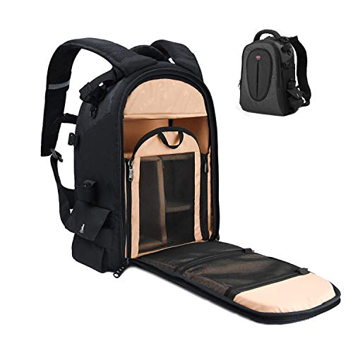DSLR Camera Bag Nikon Waterproof Backpack with 12' Laptop Compartment Camera Case...