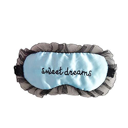 Lace Eye Blinder Eye Sleep Mask Parche en el ojo para dormir Sombra con los ojos vendados Sleep Cover-in Face Herramientas para el cuidado de la piel