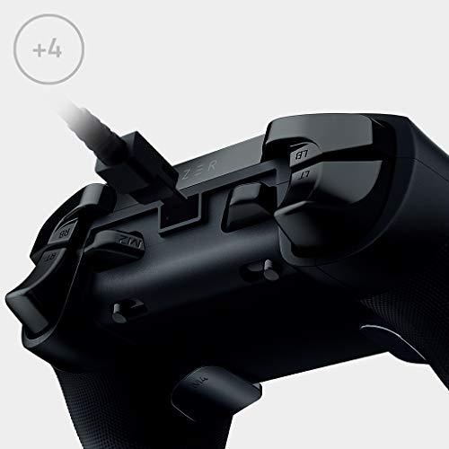 Razer Wolverine Tournament Edition - Kabelgebundener Gaming Controller für Xbox Series X / S + Xbox One + PC mit Chroma RGB (4 zusätzliche frei belegbare Tasten) Schwarz