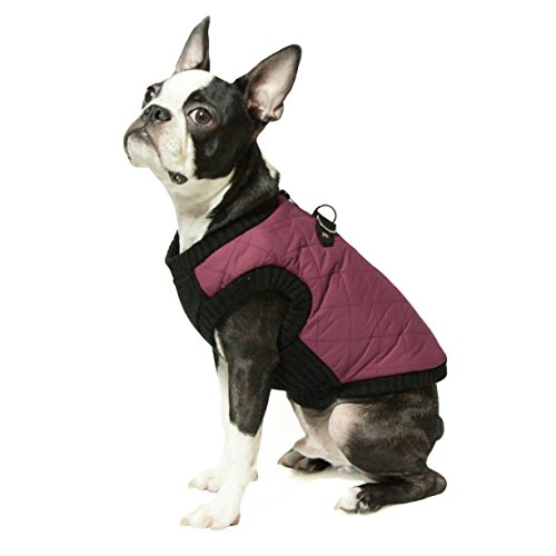 Gooby - Fashion Vest, Small Dog Sweater Bomber...