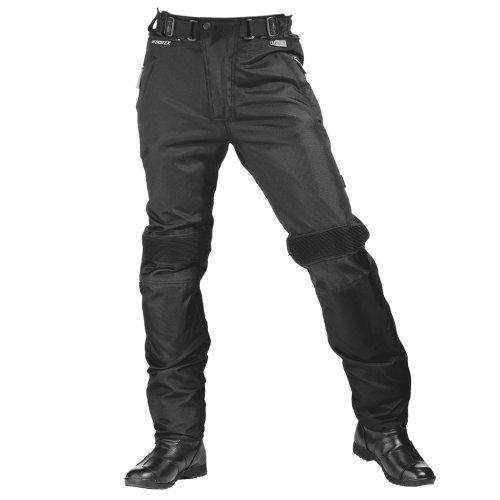 Roleff Racewear Motorradhose Textil, Schwarz, LXL